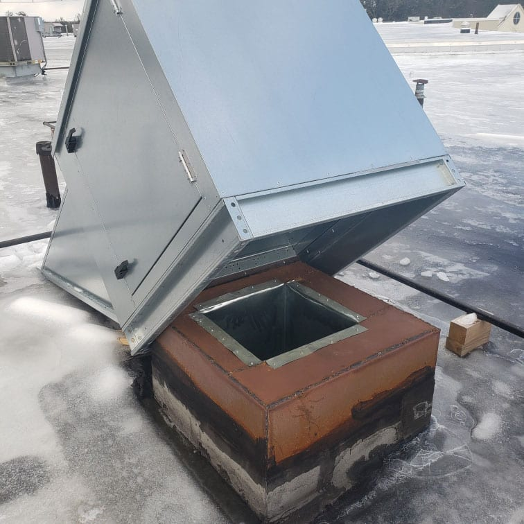 Commercial Roof Chimney Cap
